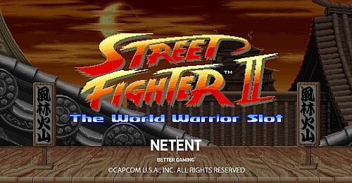 Όλη η δράση σε μία πρόταση: Street Fighter™ II: The World Warrior Slot