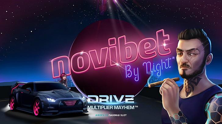 Novibet by Night* και 6 νέα παιχνίδια στο καζίνο της Novibet!