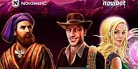 Η Novomatic έφτασε στο καζίνο της Novibet με κορυφαίους τίτλους παιχνιδιών!