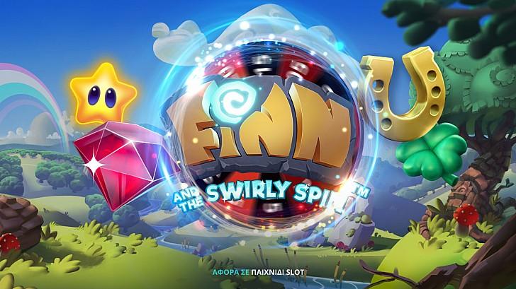 Δωροτροχός* στο Finn and the Swirly Spin!