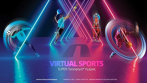 Virtual Sports με προσφορά* ημέρας στη Novibet!