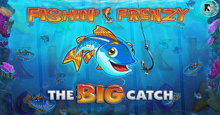 Fishin'Frenzy,TheBigCatch: Μια… ψαριά διαφορετική από τις άλλες!