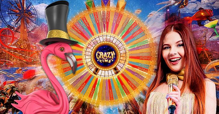 Crazy Time: H νέα, εντυπωσιακή πρόταση της Evolution Gaming στο live καζίνο