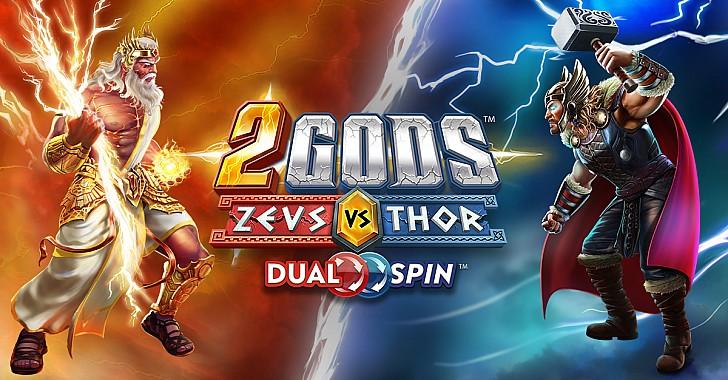 Το 2 Gods Zeus vs Thor ήρθεστοκαζίνογια ναμείνει!
